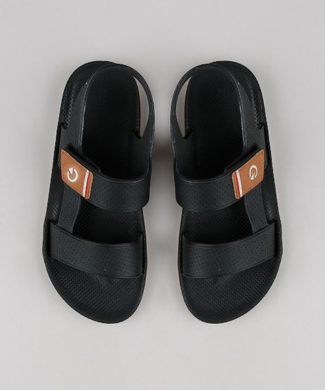Papete-Masculina-Cartago-com-Velcro-Preta-9651805-Preto_1