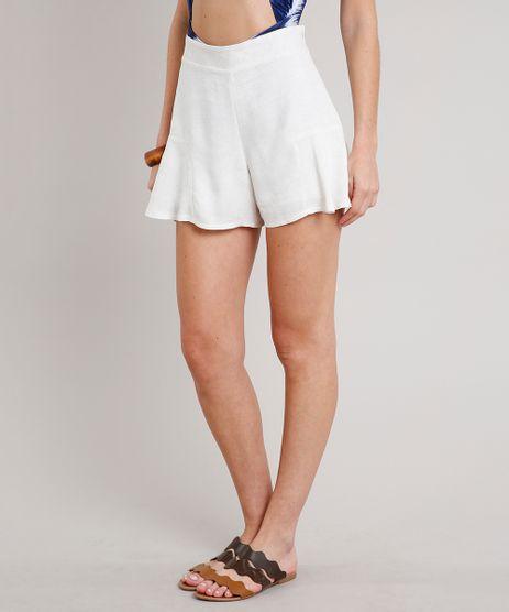 Short-Feminino-Texturizado-com-Linho-Off-White-9669197-Off_White_1