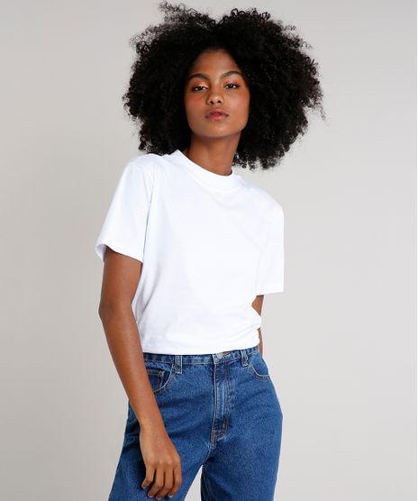 T-shirt-Feminina-Mindset-Gola-Larga-Manga-Curta-Branca-9394894-Branco_1