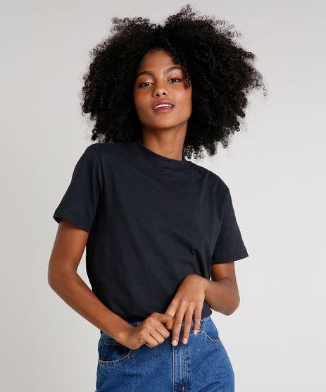 T-Shirt-Feminina-Mindset-Gola-Larga-Manga-Curta-Preta-9521816-Preto_1