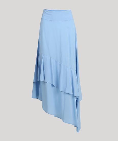 Saia-Feminina-Mindset-Midi-Assimetrica-com-Babados-Azul-Claro-9752544-Azul_Claro_5