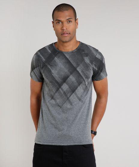 Camiseta-Masculina-Slim-Fit-com-Estampa-Manga-Curta-Gola-Careca-Cinza-Mescla-Escuro-9634525-Cinza_Mescla_Escuro_1