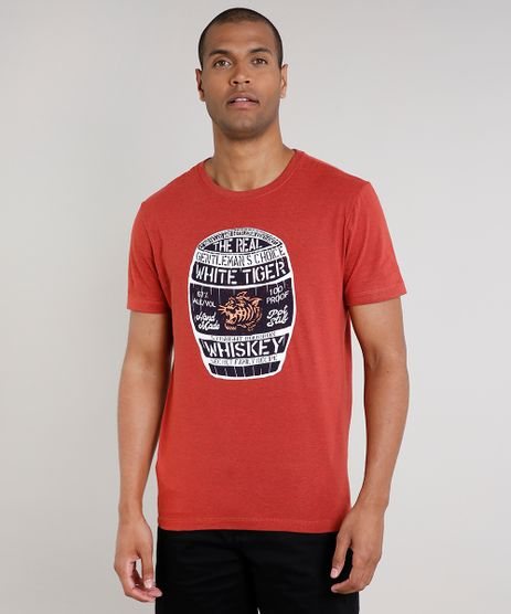 Camiseta-Masculina--Whiskey--Manga-Curta-Gola-Careca-Cobre-9629701-Cobre_1