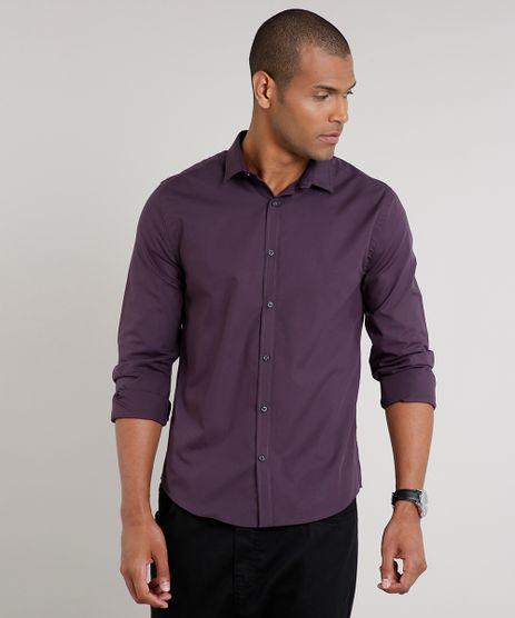 Camisa-Masculina-Slim-Basica-Manga-Longa-Roxa-9521525-Roxo_1