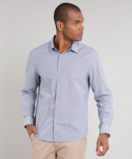 Camisa-Masculina-Comfort-Listrada-Manga-Longa-Azul-9523416-Azul_1