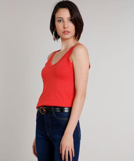 Regata-Feminina-Basica-Decote-V-Alcas-Largas-Coral-9647005-Coral_1