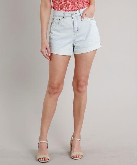 Short-Jeans-Feminino-Mom-Barra-Dobrada-Azul-Claro-9688259-Azul_Claro_1