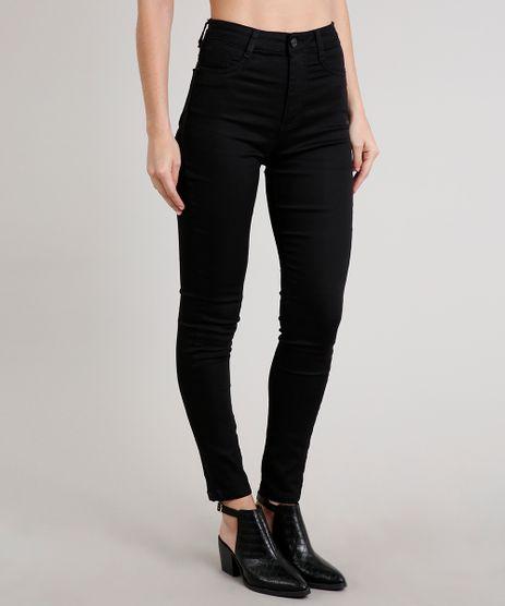 Calca-Jeans-Feminina-Sawary-Super-Lipo-Super-Skinny-Preta-9709215-Preto_1