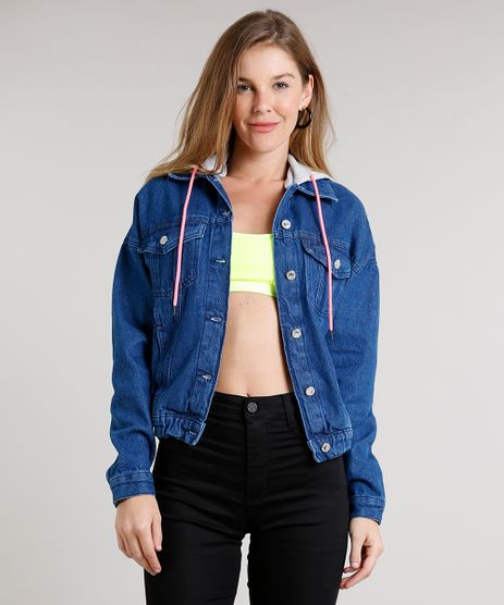 Jaqueta-Jeans-Feminina-com-Capuz-Removivel-em-Moletom-Azul-Medio-9681717-Azul_Medio_1