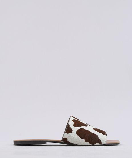 Rasteira-Slide-Feminina-Mindset-Animal-Print-Vaca-em-Couro-Bege-9683299-Bege_1