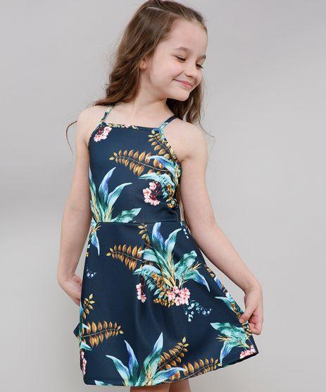 Vestido-Infantil-Tal-Pai-Tal-Filha-Halter-Neck-Estampado-de-Folhagem-Azul-Marinho-9650890-Azul_Marinho_1