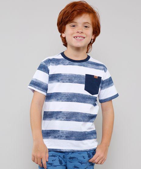 Camiseta-Infantil-Listrada-com-Bolso-Manga-Curta-Gola-Careca-Azul-Marinho-9361636-Azul_Marinho_1