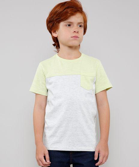 Camiseta-Infantil-com-Bolso-e-Recorte-Manga-Curta-Verde-Claro-9630895-Verde_Claro_1