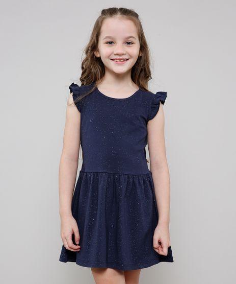 Vestido-Infantil-com-Glitter-Sem-Manga--Azul-Marinho-9612584-Azul_Marinho_1