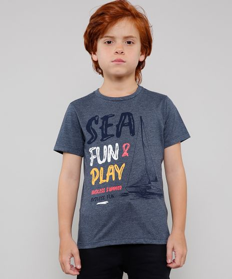 Camiseta-Infantil-Mescla--Sea-Fun---Play--Manga-Curta--Azul-Escuro-9625124-Azul_1