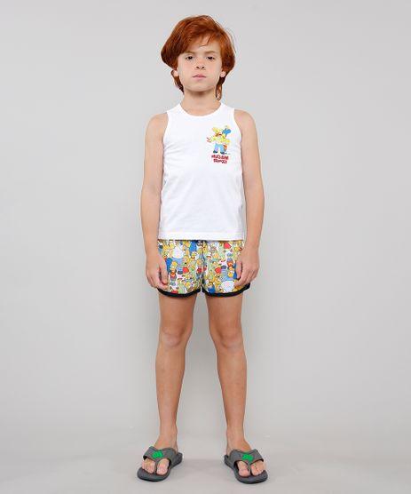 Pijama-Infantil-Tal-Pai-Tal-Filha-Os-Simpsons-Regata-Off-White-9634398-Off_White_1