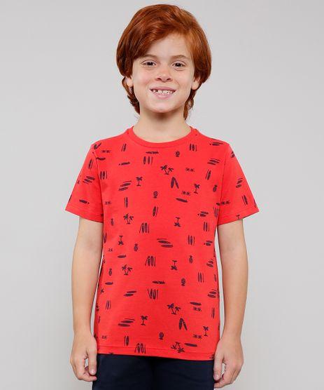 Camiseta-Infantil-Estampada-Tropical-Manga-Curta-Vermelho-9625111-Vermelho_1