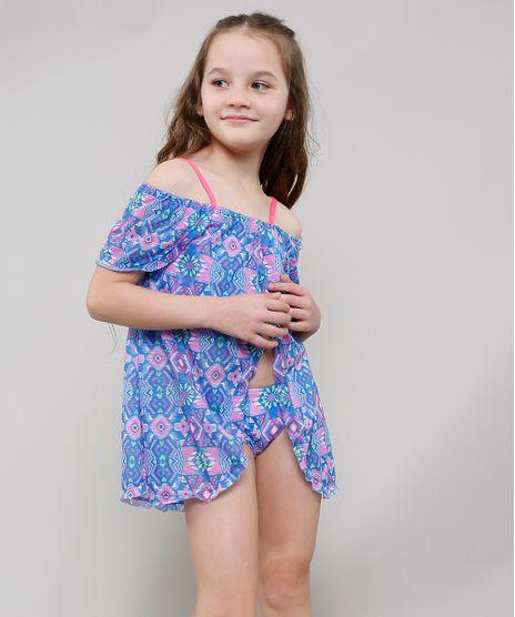 Saida-de-Praia-Infantil-Estampada-Geometrica-Ombro-a-Ombro-com-Abertura-Roxa-9630561-Roxo_1