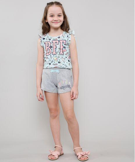 Conjunto-Infantil-de-Regata-Unicornios-com-Babado---Short-com-Laco-Verde-Claro-9543729-Verde_Claro_1
