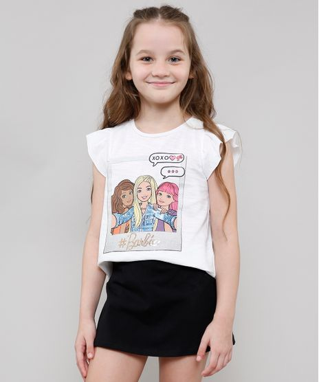 Blusa-Infantil-Barbie-com-Paete-Babado-na-Manga-Off-White-9646627-Off_White_1