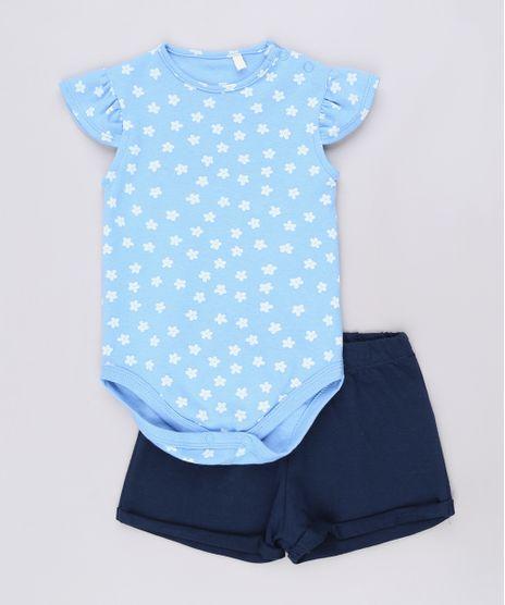 Conjunto-infantil-de-Body-Floral-Manga-Curta-Azul-Claro---Short--Azul-Marinho-9678399-Azul_Marinho_1