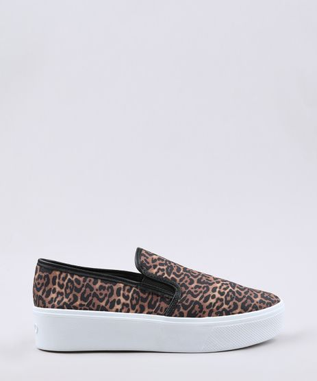Tenis-Slip-On-Feminino-Flatform-Via-Uno-Estampado-Animal-Print-Onca--Bege-9675413-Bege_1