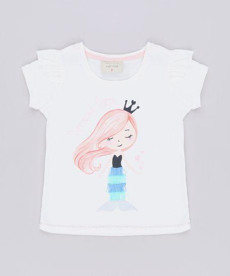 Blusa-Infantil--Mermaid-Queen--Manga-Curta-Off-White-9676836-Off_White_1