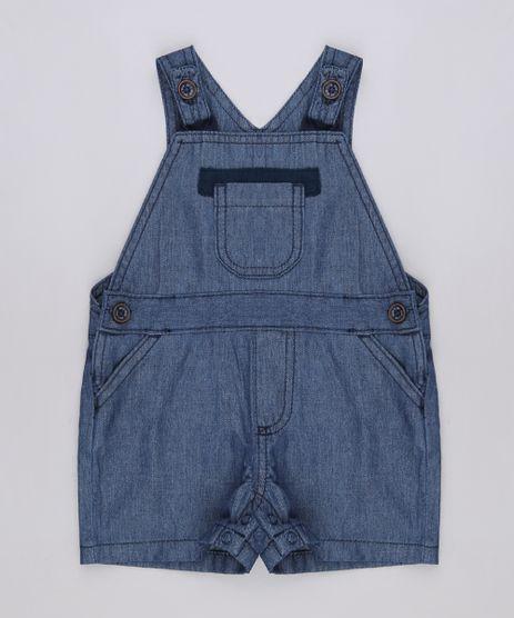 Jardineira-Jeans-Infantil-com-Bolsos-Azul-Escuro-9671778-Azul_Escuro_1