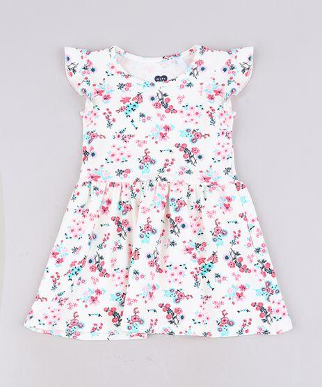 Vestido-Infantil-Estampado-Floral-Sem-Manga-Com-Babado-Off-White-9679484-Off_White_1