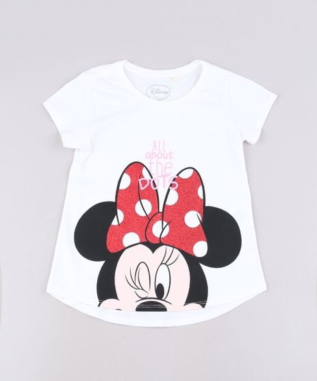 Blusa-Infantil-Minnie-com-Glitter-Manga-Curta-Off-White-9691099-Off_White_1