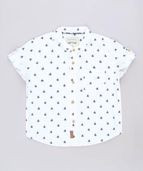 Camisa-Infantil-Estampada-de-Barco-com-Bolso-Manga-Curta-Gola-Padre-Off-White-9543934-Off_White_1