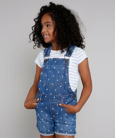 Jardineira-Jeans-Infantil-Estampada-de-Estrelas-Azul-Medio-9471712-Azul_Medio_1