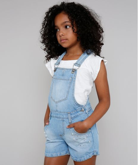 Jardineira-Jeans-Infantil-com-Perolas-e-Strass-Azul-Claro-9416223-Azul_Claro_1