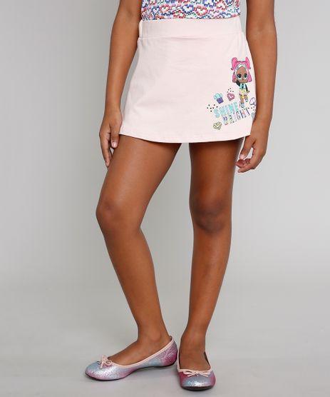 Short-Saia-Infantil-LOL-Surprise-com-Glitter-Rosa-Claro-9637427-Rosa_Claro_1