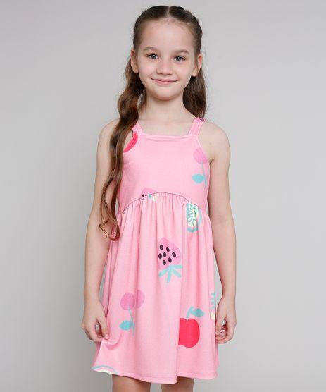 Vestido-Infantil-Estampado-de-Frutas-Alca-Media-Rosa-9664233-Rosa_1
