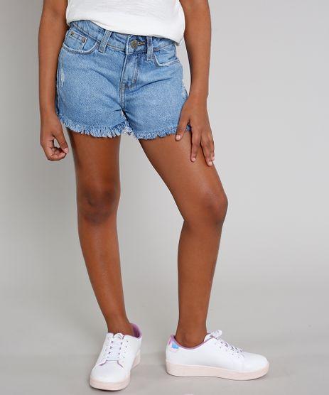 Short-Jeans-Infantil-com-Puidos-Barra-Desfiada-Azul-Claro-9642908-Azul_Claro_1