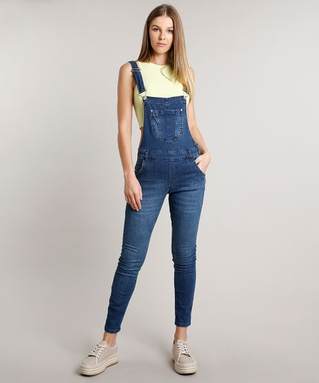 Macacao-Jeans-Feminino-com-Bolsos-Azul-Escuro-9670248-Azul_Escuro_1