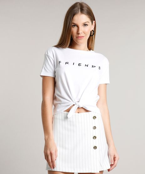Blusa-Feminina-Friends-com-No-Manga-Curta-Decote-Redondo-Off-White-9697666-Off_White_1