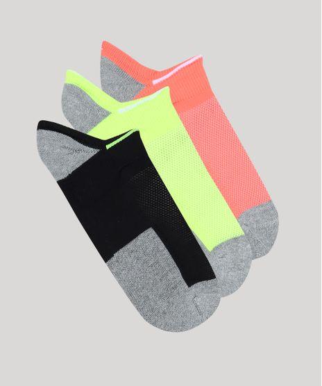 Kit-de-3-Meias-Femininas-Invisiveis-Esportivas-Ace-Neon-Multicor-9697439-Multicor_1