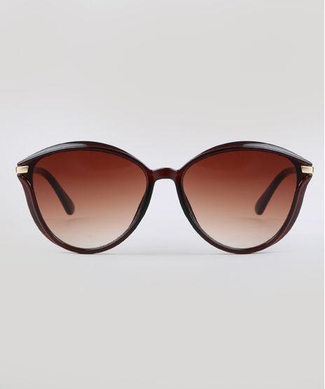 Oculos-de-Sol-Redondo-Feminino-Yessica-Marrom-9732413-Marrom_1