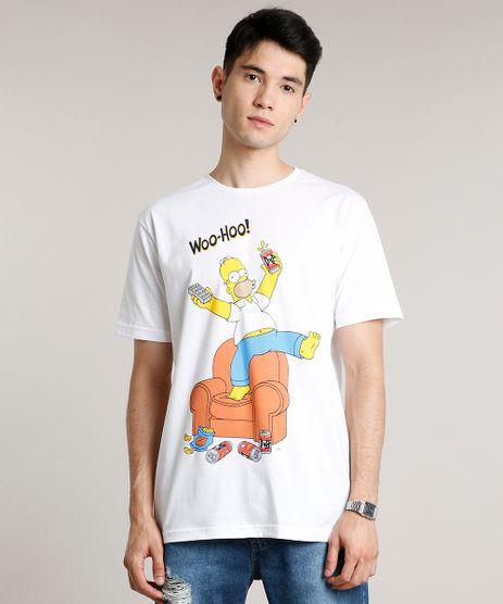 Camiseta-Masculina-Homer-Simpson-Manga-Curta-Gola-Careca-Branca-9677155-Branco_1