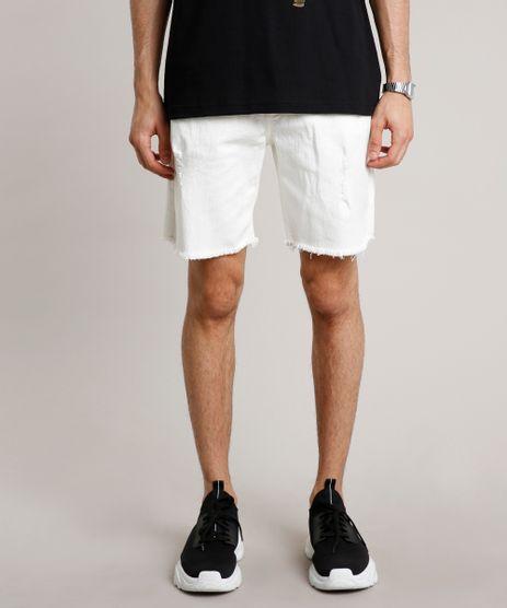 Bermuda-de-Sarja-Masculina-Slim-com-Rasgos-Off-White-9705564-Off_White_1