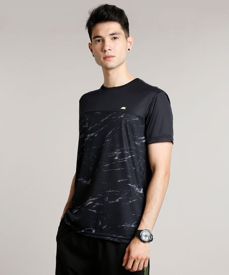 Camiseta-Masculina-Esportiva-Ace-com-Recorte-Manga-Curta-Gola-Careca-Preta-9709290-Preto_1