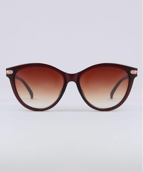 Oculos-de-Sol-Redondo-Feminino-Yessica-Marrom-9732479-Marrom_1