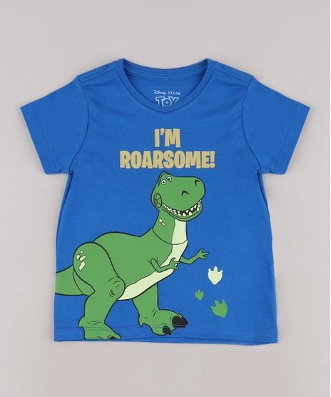 Camiseta-Infantil-Dinossauro-Rex-Toy-Story-Manga-Curta-Azul-Royal-9685392-Azul_Royal_1