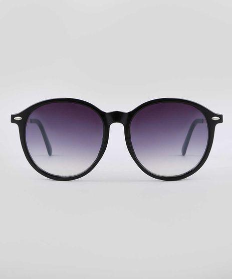 Oculos-de-Sol-Redondo-Feminino-Yessica-Preto-9732467-Preto_1