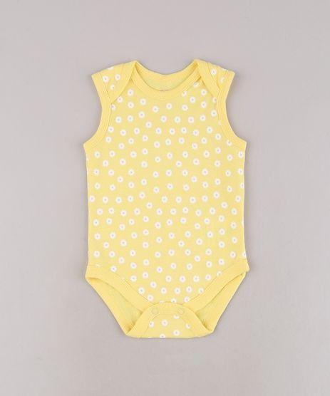 Body-Infantil-Estampado-Floral-Sem-Manga-Amarela-9586876-Amarelo_1