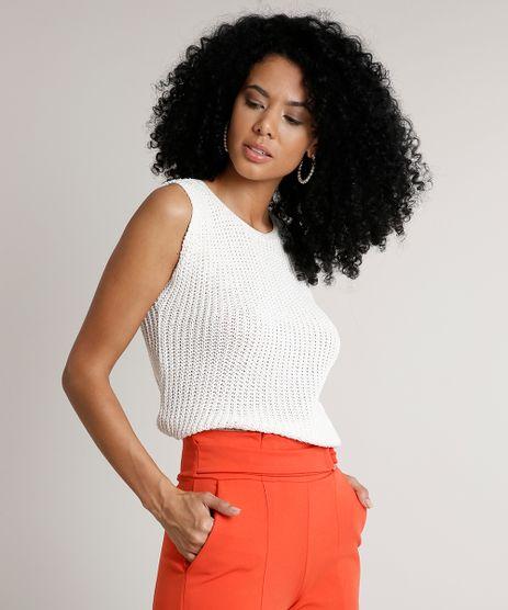 Regata-Feminina-em-Trico-com-Lurex-Decote-Redondo-Off-White-9620897-Off_White_1