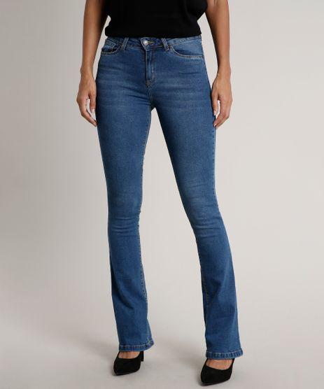 Calca-Jeans-Feminina-Boot-Cut-Azul-Medio-9684321-Azul_Medio_1