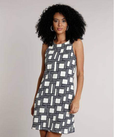 Vestido-Feminino-Curto-Estampado-Geometrico-Sem-Manga-Off-White-9610997-Off_White_1
